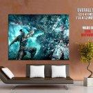 Sub Zero Mortal Kombat 9 Fatality Art Huge Giant Print Poster