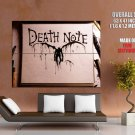 Death Note Splashes Painting Art Anime Huge Giant Print Poster