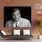 Peter Falk Columbo Actor Bw Huge Giant Print Poster
