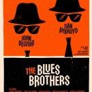 Blues Brothers John Belushi Dan Aykroyd 16x12 Print POSTER