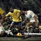 The Untouchables Ronaldinho Brazil 32x24 Print POSTER