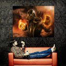 Mortal Kombat 9 Scorpion Huge 47x35 Print Poster