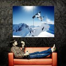 Shaun White Snowboarding Jump Extreme Sport Huge 47x35 Print POSTER