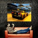 Chevrolet Corvette Race Supercar Huge 47x35 Print POSTER