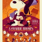 Dark Hall Mansion Charlie Brown Thanksgiving 32x24 Print POSTER