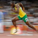 Supersonic Usain Bolt Sprinter 16x12 Print Poster