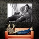 Cristiano Ronaldo Hot Shirtless Football Huge 47x35 Print POSTER