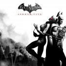 Batman Catwoman Arkham City Art Video Game 24x18 Print POSTER