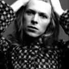David Bowie Portrait Rock Music Singer BW 24x18 Print Poster