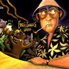Fear And Loathing In Las Vegas Dr Gonzo Vector Art 16x12 POSTER