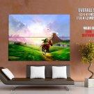 The Legend Of Zelda Ocarina Time Huge Giant Print Poster