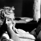 Marilyn Monroe Cool Portrait Actress BW 32x24 Print Poster