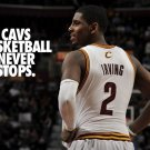 Kyrie Irving Cleveland Cavaliers NBA 16x12 Print POSTER