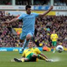 Sergio Aguero Manchester City Soccer 32x24 Print Poster