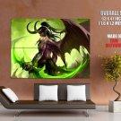 Illidan Stormrage World Of Warcraft Art Huge Giant Print Poster