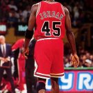Michael Jordan 45 Jersey Rare Chicago Bulls NBA Basketball 32x24 POSTER