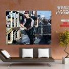 The Walking Dead Glenn Running Steven Yeun Tv Series Huge Giant Poster