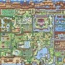 The Legend Of Zelda Overworld Map 16x12 Print Poster