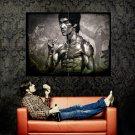Bruce Lee Drawing Martial Arts Huge 47x35 Print Poster