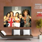 Spice Girls Sexy Hot Pop Music Group Vintage HUGE GIANT Print Poster