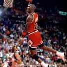 Michael Jordan Slam Dunk NBA 16x12 Print POSTER