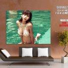 Cute Busty Asian Babe Hot Bikini Huge Giant Print Poster