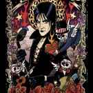 Lux Interior The Cramps RIP Art Music 16x12 Print POSTER