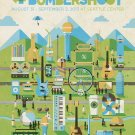 Bumbershoot International Music And Art Fest 16x12 Print POSTER
