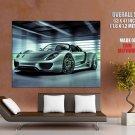 Porsche 918 Spyder Sport Car Huge Giant Print Poster