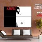 Scarface Al Pacino Bw Huge Giant Print Poster