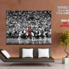 Michael Jordan Nba Finals 1998 Shot Huge Giant Print Poster