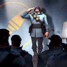 Team Fortress 2 Soldier Briefing 32x24 Print POSTER