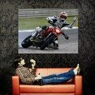Ducati Hypermotard Race Sport Bike Motorcycle Huge 47x35 POSTER