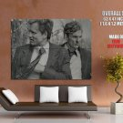True Detective Marty Hart Rust Cohle Huge Giant Print Poster