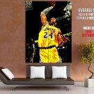 Kobe Bryant Painting Art Dunk Nba Huge Giant Print Poster