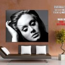 Adele 21 Album Cover Bw Singer Music Huge Giant Print Poster