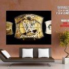 Champions Belt Wrestling Wwe Huge Giant Print Poster
