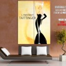 Champagne Taittinger Woman Art Vintage HUGE GIANT Print Poster