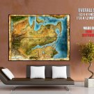 Dragon Age 2 Map Video Game Art Huge Giant Print Poster