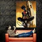 Nightcrawler X Men Marvel Comics Art Huge 47x35 Print Poster