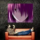 Elfen Lied Lucy Portrait Art Huge 47x35 Print Poster