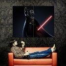 Darth Vader Lightsaber Star Wars Huge 47x35 Print Poster