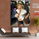 Comiket Hot Police Girl Stocking Japanese Cosplay GIANT 63x47 Print Poster