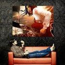 Dead Island Asian Girl Machete Art Video Game Huge 47x35 Print POSTER