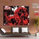 Batman Cacophony Red Comics Art Huge Giant Print Poster