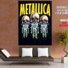 Metallica Heavy Metal Band Group Art HUGE GIANT Print Poster
