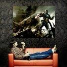 Captain America First Avenger Art Huge 47x35 Print POSTER