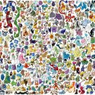All Pokemon Cool Collage Art 32x24 Print Poster