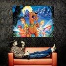 Scooby Doo Cartoon Art Huge 47x35 Print Poster
