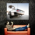 DeLorean DMC 12 Rear Car Huge 47x35 Print Poster